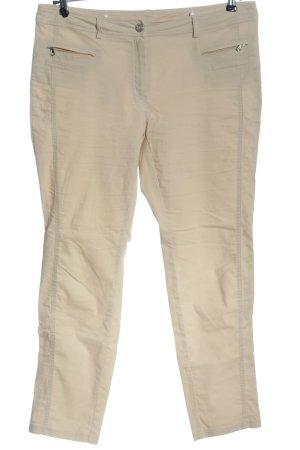 Steilmann Stretch Trousers cream casual look