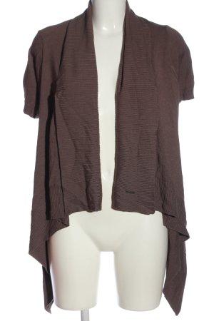 Steilmann Cardigan in maglia marrone stile casual