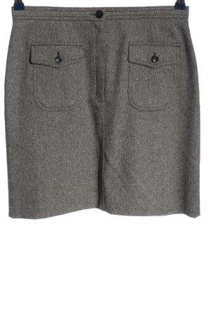 Steilmann Knitted Skirt light grey flecked business style