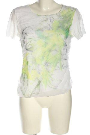 Steilmann T-Shirt abstraktes Muster Casual-Look
