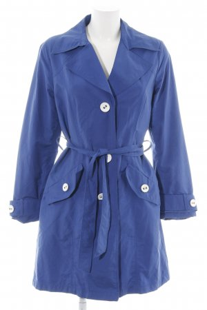 Steilmann Trenchcoat blau Business-Look