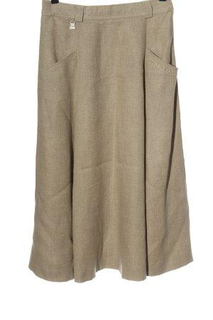 Steinbock Lniana spódnica kremowy W stylu casual