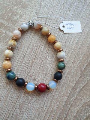 Steinbock Sternzeichen Armband aus Natursteinen