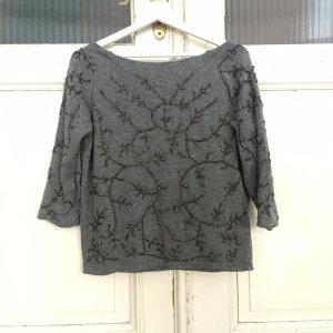 Steinchen Pullover von Zara