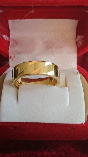 Steinles Steel Ring Gr.17/6mm