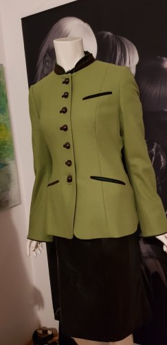 Gaisberger Blazer in lana verde prato