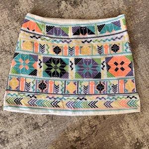 High Waist Skirt multicolored