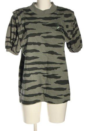 Stella and Lori T-Shirt khaki Camouflagemuster extravaganter Stil
