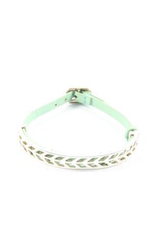 Stella & Dot Armband grün-silberfarben Casual-Look