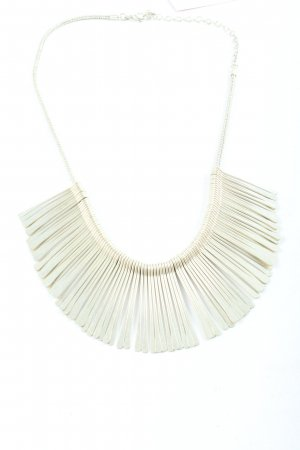 Stella & Dot Collar estilo collier color plata elegante