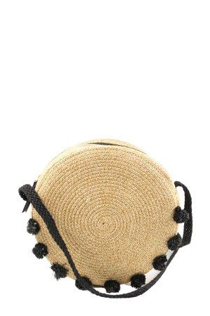 Stella & Dot Basket Bag black-cream casual look
