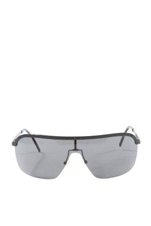 Stella Maccartney Gafas de piloto negro look casual