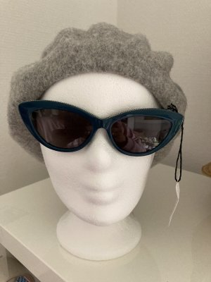 Stella McCartney Butterfly Glasses petrol-cadet blue