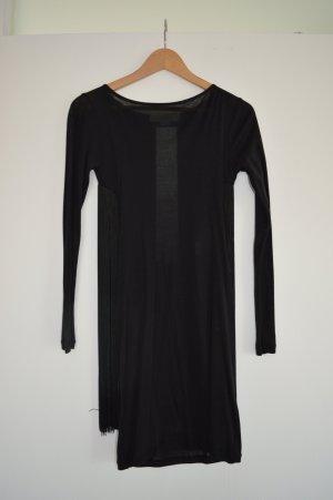 Stella McCartney Fringed Dress black cotton