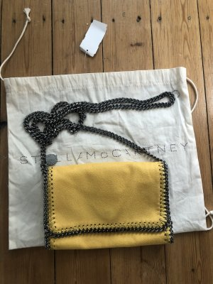Stella Mc Cartney Pochette Clutch Bag Yellow Kette Chain Bandouliere Crossbody