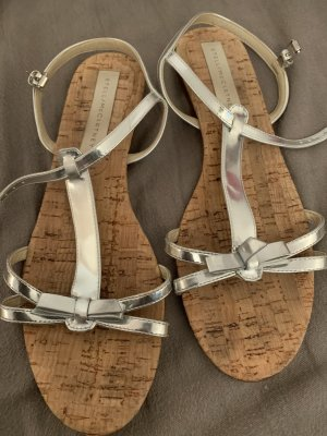 Stella McCartney Outdoor Sandals silver-colored