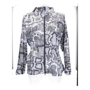 Adidas by Stella McCartney Chaqueta con capucha blanco-negro Poliéster