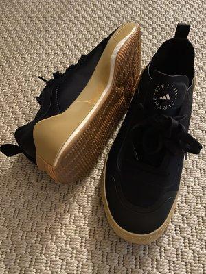 Adidas Stella Mccartney Sneakers met veters zwart Gemengd weefsel