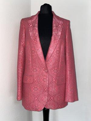 Stella McCartney Blazer in lana rosa