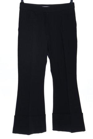 Stella McCartney Pantalon à pinces noir style décontracté
