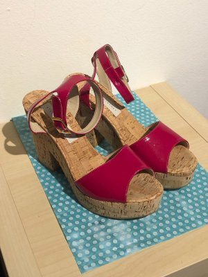 STELLA McCARTNEY Cork Sandels, Gr. 40