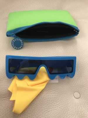 Stella McCartney Okulary retro niebieski