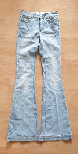 Stella McCartney  Faded 70s Flared Jeans schlaghose high waist