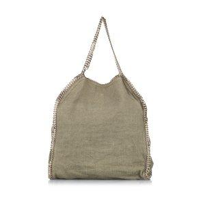 Stella McCartney Falabella Fold-Over Canvas Tote Bag