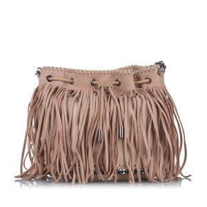 Stella McCartney Falabella Fringe Bucket Bag