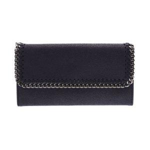 Stella McCartney Falabella two-fold purse Navy purse