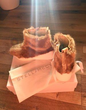 Stella McCartney Fauxfur Stiefeletten \ Sneaker