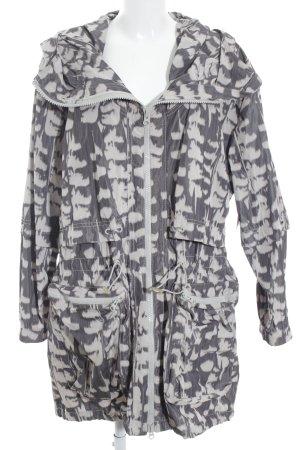 Stella McCartney for Adidas Parka graulila-blasslila Mustermix sportlicher Stil