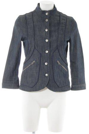 Stella McCartney for H&M Jeansblazer blau Farbverlauf Casual-Look