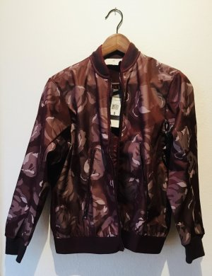 Adidas by Stella McCartney Sports Jacket brown violet polyester