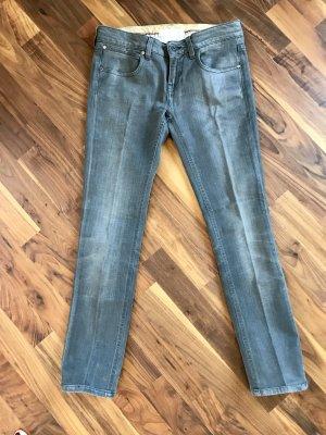 Stella McCartney Jeans vita bassa grigio scuro-antracite