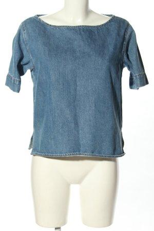 Stella McCartney Jeansbluse blau Casual-Look