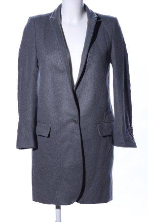 Stella McCartney Manteau court gris clair moucheté style d'affaires