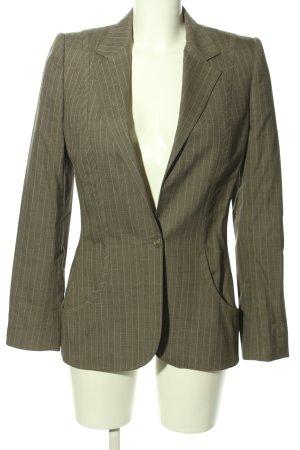 Stella McCartney Lange blazer bruin-wit volledige print zakelijke stijl