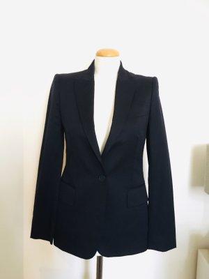 Stella McCartney Blazer de lana azul oscuro Lana
