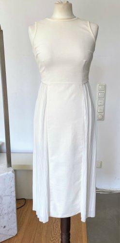 Stella McCartney Chiffon jurk wolwit-wit