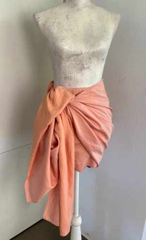 Stella McCartney Minifalda nude-albaricoque Algodón