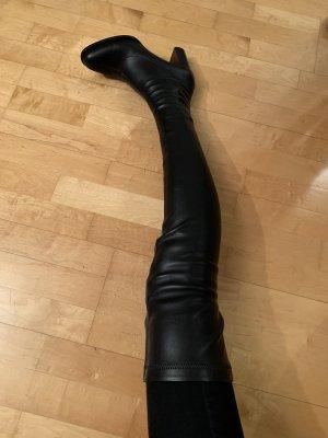 Stella McCartney Overknee Stiefel schwarz