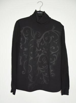 Stella McCartney Maglione oversize nero Tessuto misto