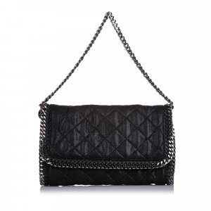 Stella McCartney Quilted Falabella Baguette
