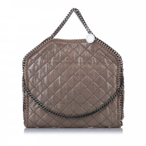 Stella McCartney Quilted Falabella Tote Bag