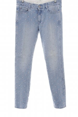 Stella McCartney Slim Jeans blassblau-rosé Casual-Look