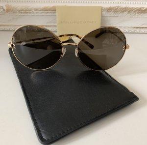 Stella McCartney Gafas de sol redondas color oro-marrón oscuro