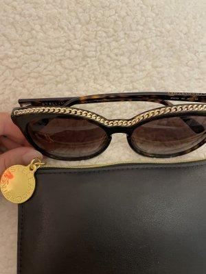 Stella McCartney Gafas de sol cuadradas color oro-marrón