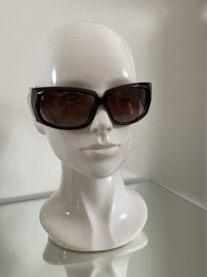 Stella Maccartney Oval Sunglasses brown violet