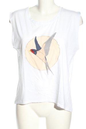 Stella McCartney T-Shirt Motivdruck Casual-Look